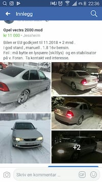 Opel - Vectra - 2000 Sand