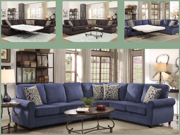 Incredible Sectional Sofa Bed 1799 1 Down No Credit Check Financing Download Free Architecture Designs Scobabritishbridgeorg