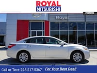 2017 Nissan Altima sedan 2.5 S Brilliant Silver
