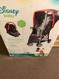 New never been used stroller and carseat