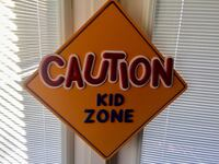 Caution Kid Zone Sign Edmonton, T6X 0A8