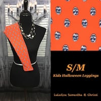 LulaRoe Halloween Leggings Kids S/M Scott Township