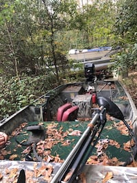 1648 duck/fishing boat with a 50hp Mercury outboard Toccoa, 30577