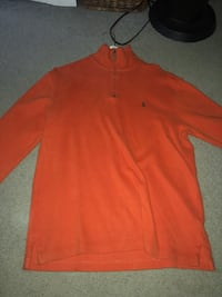 Polo Ralph Lauren Orange Zip Up Columbia, 21044