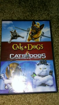 Cats and Dogs 2 kids DVD Rochester, 14606