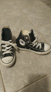 toddler's pair of black-and-white Converse All Sta Longueuil, J4T 2J4