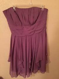 women's purple sleeveless dress Lewisville, 75057