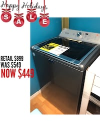 Brand New Maytag Top Load Washer (Open Box)  43 mi