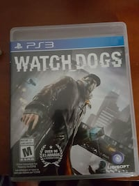 Watch Dogs Sony PS3 game