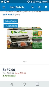 Foodsaver brand new Cohoes, 12047
