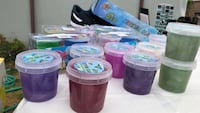 three assorted color plastic containers Oxnard, 93033
