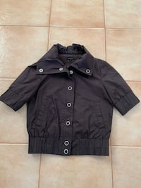 Dalia Collection Short Sleeve Brown Jacket  Toronto, M4J 4H7