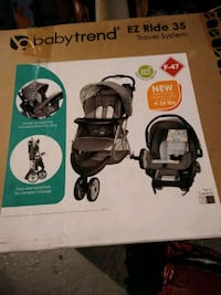 black and gray Graco stroller box Baltimore, 21213