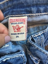 True Religion low rise skinny jeans  Laval, H7T 3A7