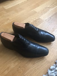 Black To Boot New York Lace-Ups Size 8