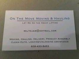 Moving/Hauling/Delivery/Assembly