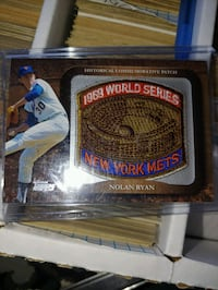 2009 World Series Nolan Ryan patch Athol, 83801