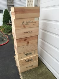 Wine boxes...... what can you build.... 266 mi
