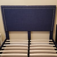 New Queen upholstered bed frame grey Brampton, L6R 2A7