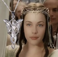 """NEW - The fairy princess pendant from """"Lord of the Rings"""" Guelph"""