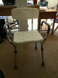 white and black commode chair Fairfax, 22032