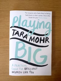 """Playing Big"" by Tara Mohr LONDON"