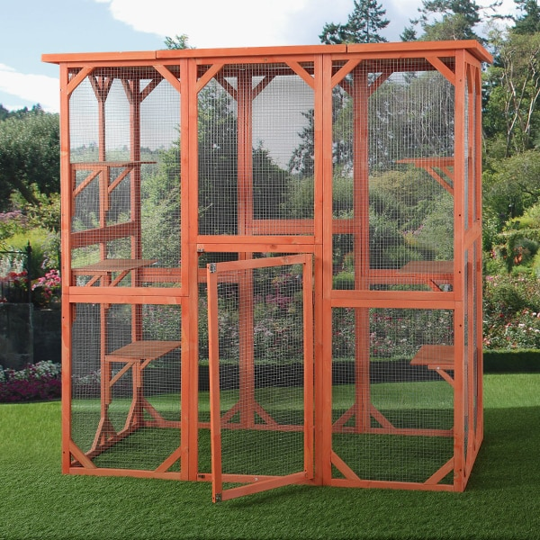 Cat/Dog/Bird Outdoor Animal Cage 6e2a3a2e-9d4c-46b0-8579-d9014023f0dd
