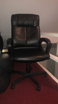 Quill Brand® Turcotte Luxura® High Back Managers Chair, Black Paterson, 07503