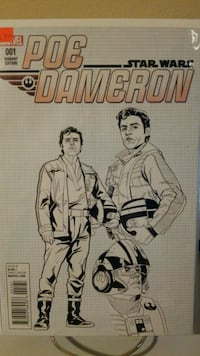 Poe Dameron #1 1:25 Variant Riverview, 33569