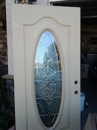 white wood with glass door frame Las Vegas, 89106