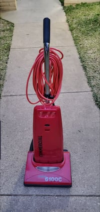 dust care commercial upright vacuum cleaner.
