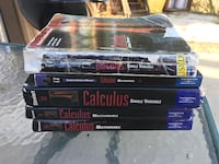 5th Edition Calculus Books from Single to Multiveriable TextBooks by James Stewart Santa Clarita, 91351