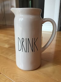 Rae Dunn Drink Ceramic Pitcher Burlington, L7L 5W9