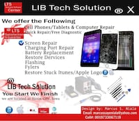 Phone screen repair Sioux City, 51105