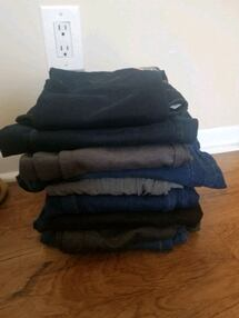 nine trousers and jeans size:6 and 7