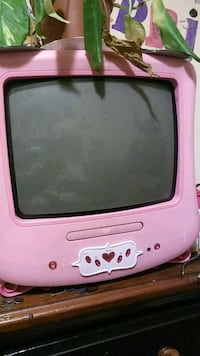 pink and purple CRT TV Sacramento, 95826