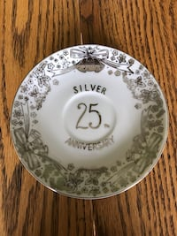 ArnartCreations 25th Anniversary Saucer Perryville, 21903