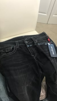 True religion black jeans  Surrey, V3S 4T1