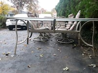 Outdoor table set /w 6 chairs 25 km