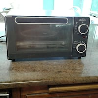 black toaster oven Gulf Breeze, 32563