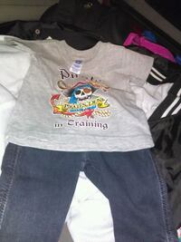 Baby outfit pirate/wrangler 1820 mi
