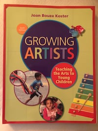 Growing Artists by Joan Bouza Koster book Toronto, M6S