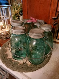 Canner carrier 6 Mason jars Hagerstown, 21740