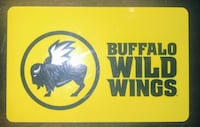 $25 Buffalo Wild Wings Gift Card! Woodbridge, 22192