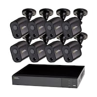 NIB Q-SEE 8-Channel 1080p 1TB Video Surveillance DVR System with 8 PIR Camera Springfield, 22151