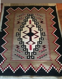 Absolutely EXQUISITE large handmade Navajo rug