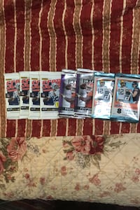 4 sealed 2017 football packs  ! HOT HOT ROOKIE YEAR ! All 4 for $10 Beltsville, 20705