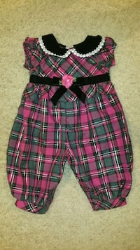 Girls size 3m BonnieBaby jumpsuit