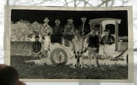 VERY EARLY ANTIQUE TRUCK ANTIQUE PHOTO NEGATIVE / PRIMITIVE RUSTIC COUNTRY FARM ALDEN