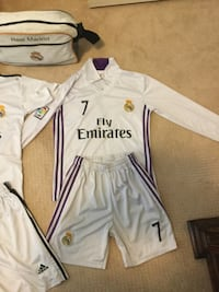 Real Madrid kit  Richmond, V6Y 1B2